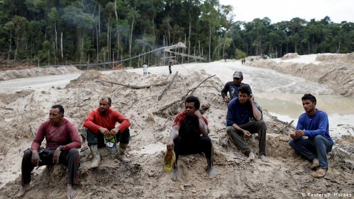 Bildergalerie Brasilien Amazonas Einsatz gegen illegale Minen (Reuters/R. Moraes)