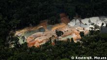 Bildergalerie Brasilien Amazonas Einsatz gegen illegale Minen