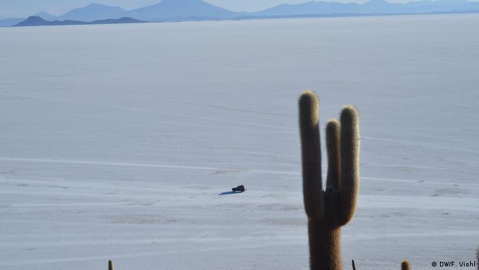 Bolivien Reportage | Salar de Uyuni, Salzpfanne & Abbau von Lithium (DW/F. Viohl)