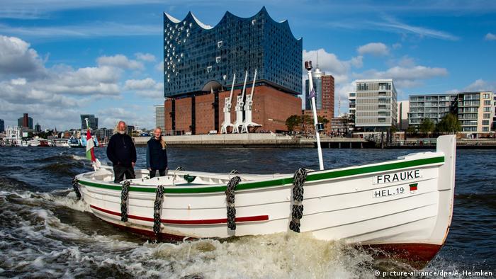 BdT mit Deutschlanbezug - Börteboote aus Helgoland