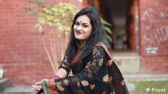 Bangladesch, Nationalwahl, Wählerin, Nazla Ibtesham