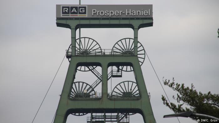 Reportage Bottrop nach dem Ende des Steinkohlenbergbaus | Zeche Prosper-Haniel (DW/C. Grün)