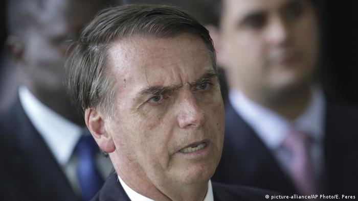 Jair Bolsonaro (picture-alliance/AP Photo/E. Peres)