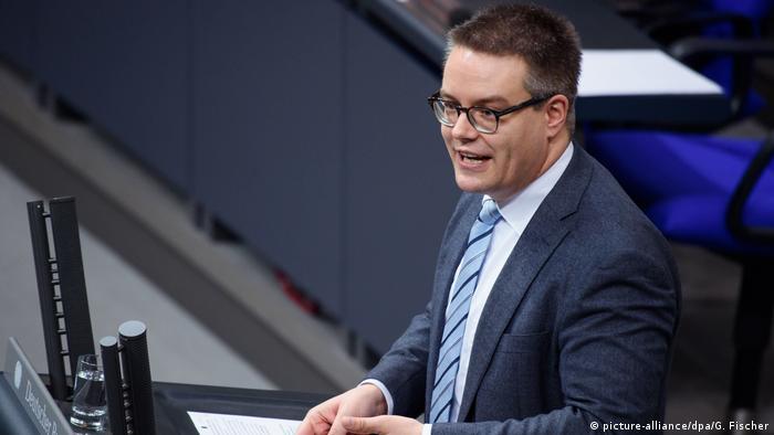 Bundestagsabgeordneter Tobias Lindner von den Grünen