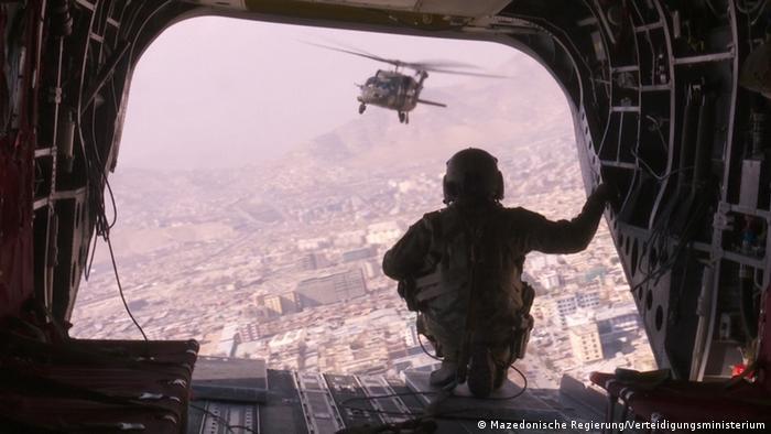 Pressebild Verteidigungsministerium Mazedonien   Soldaten in Afghanistan