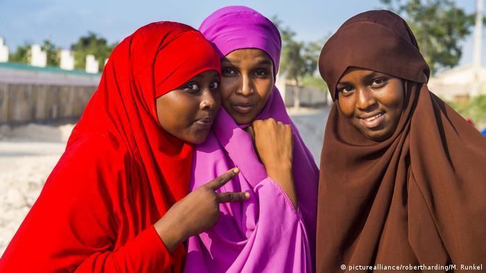 Somalia Frauen in Berbera, Somaliland