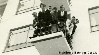Dessau Bauhausköpfe (aus dem Bauhaus-Fotoalbum von Fritz Schreiber)