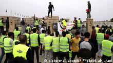 Irak Basra Gelbwesten Protest