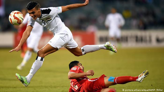 Asian Cup Fußball | Irak - Palästina (picture-alliance/dpa/AAP/P. Miller)