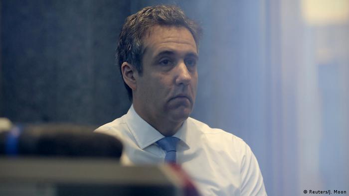 New York Prozess Anwalt Michael Cohen