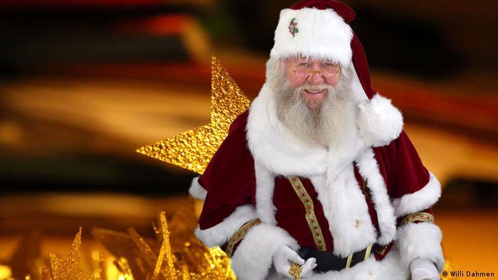 Weihnachtsmann mit Stern (Willi Dahmen)