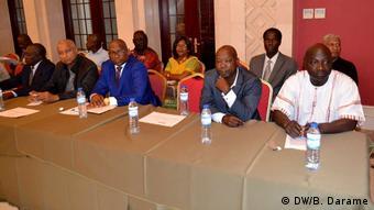 Guinea-Bissau Parteientreffen (DW/B. Darame)