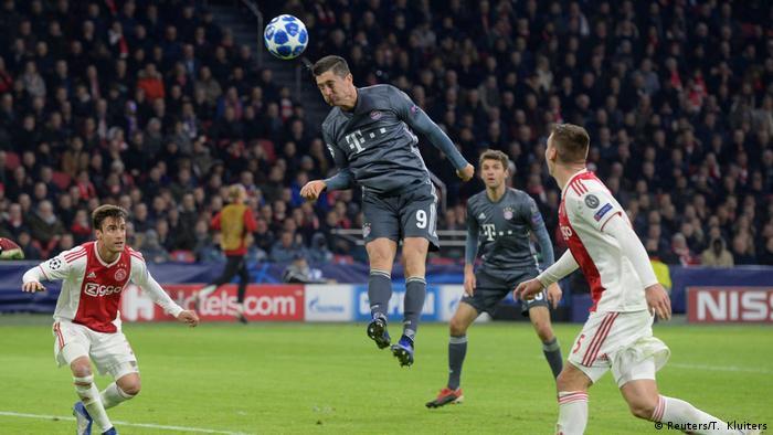 UEFA Champions League - Ajax Amsterdam v Bayern München (Reuters/T. Kluiters)