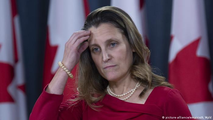 Chrystia Freeland (picture-alliance/empics/A. Wyld)