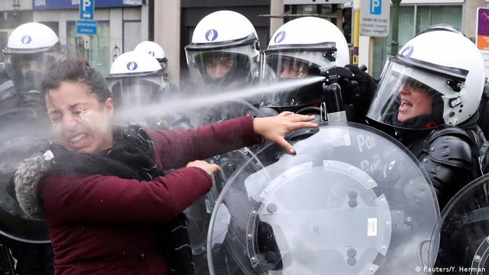 Протести європейців