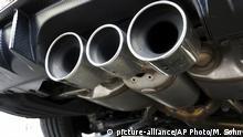 Deutschland Diesel Auspuffrohre