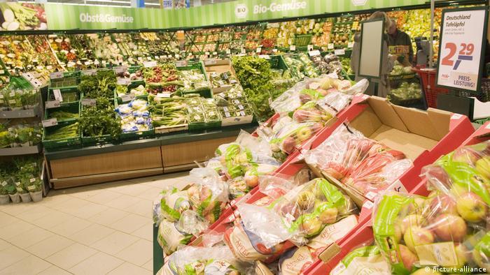 Ceny dóbr konsumpcyjnych w eurostrefie spadają
