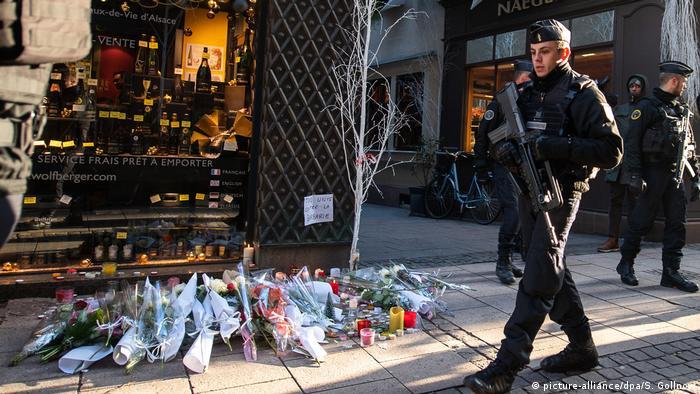 Полиция у места теракта