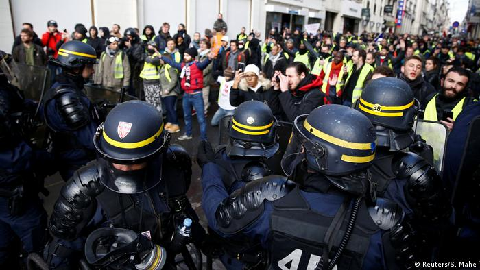 French government urges 'yellow vests' to halt rallies after Strasbourg attack