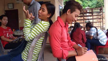 Kambodscha Media Literacy and Information Projekt