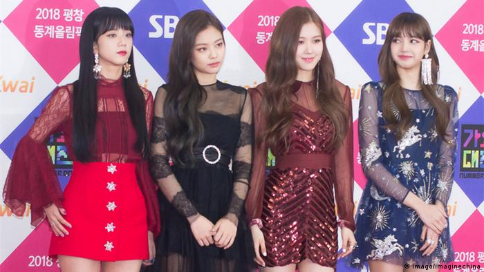 Südkoreanische Girlgroup Blackpink (imago/imaginechina)