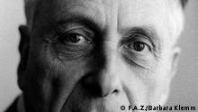 FAZ-Herausgeber Johann Georg Reißmüller (1932-2018)