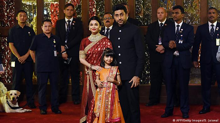 Hochzeit Indien Isha Ambani Anand Piramal (AFP/Getty Images/S. Jaiswal)