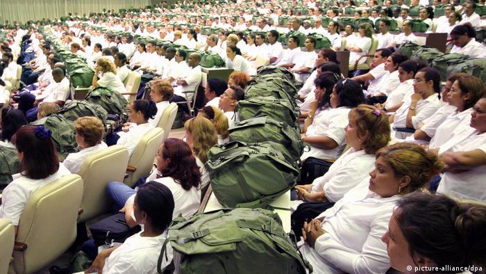 Kuba trumpft im Kampf gegen Ebola auf (picture-alliance/dpa)