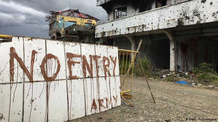 The historic center of Marawi remains off limits (DW/S. Petersmann)