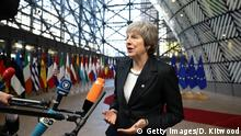 Theresa May bei dem EU Gipfel (Getty Images/D. Kitwood)