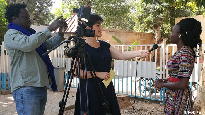 Medientraining der DW Akademie in Burkina Faso zum Thema Vielfalt leben, Toleranz lieben – über Kommunikation Radikalisierung vorbeugen
