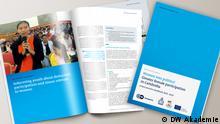 Mockup DWA-Publikation Women into politics – Greater female participation in Cambodia
