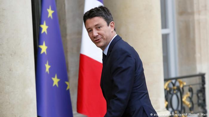 Frankreich | Macron's Regierungssprecher Benjamin Griveaux