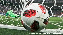 Fußball WM 2018 Russland Ball Tor
