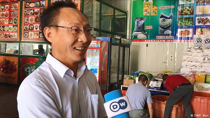 The Chinese Food Market in Lusaka (DW/F. Wan)