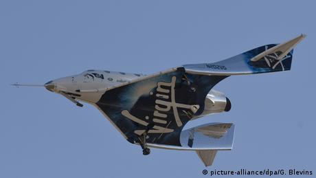 Virgin Galactic test flight (picture-alliance/dpa/G. Blevins)