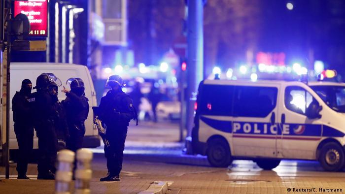 Frankreich Straßburg-Meinau | Polizei-Operation gegen Attentäter von Straßburg (Reuters/C. Hartmann)