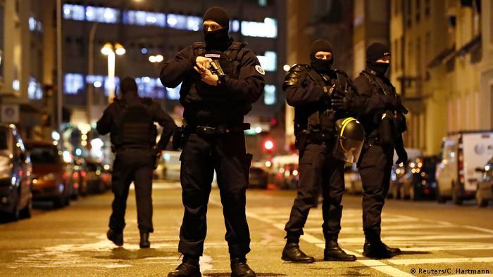 Поліція у Страсбурзі