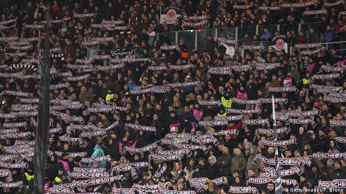 Image result for Eintracht frankfurt fans