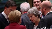 Brüssel EU-Gipfel zu Brexit | Angela Merkel & Theresa May