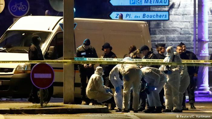 Frankreich Straßburg Attentat