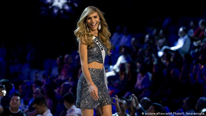 Miss Universe competition in Thailand