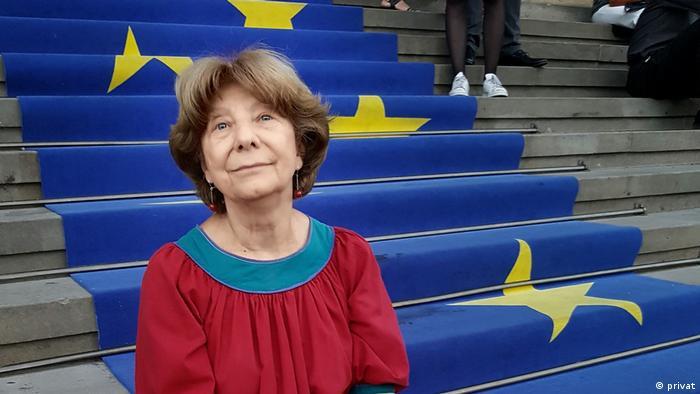 Larisa Beltser-Lisyutkina, Dozentin aus Berlin