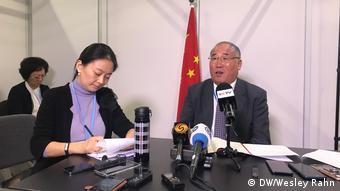 Polen Kattowitz Chinas Sonderbeauftragter für Klimafragen Xie Zhenhua