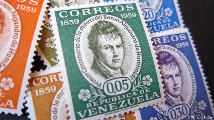 Alexander von Humboldt stamps from Venezuela
