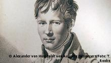 Alexander von Humboldt, Auguste Desnoyers (Künstler) nach Francois Gerard, Kupferstich, 1805