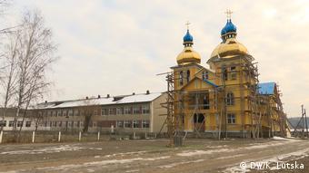 У храмі УПЦ КП ще тривають фасадні роботи