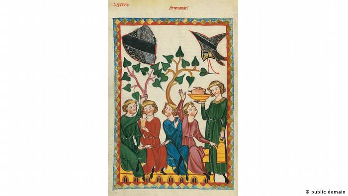 Illustration from the Codex Manesse