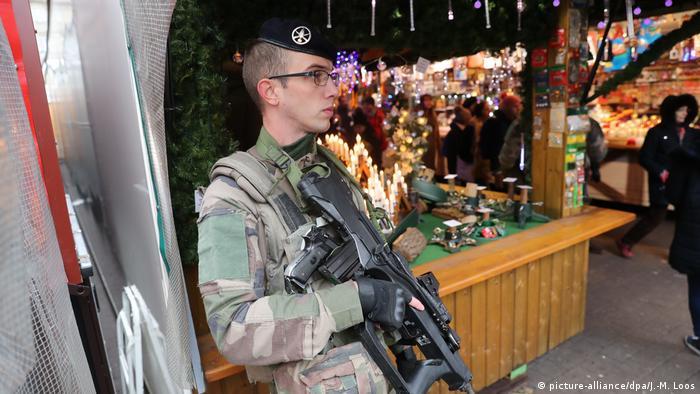 Ярмарок у центрі Страсбурга відновлено під посиленою охороною