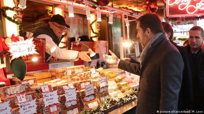 Straßburg Weihnachtsmarkt nach Anschlag